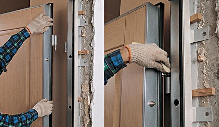 Как самостоятельно подготовить проем для установки металлической входной двери