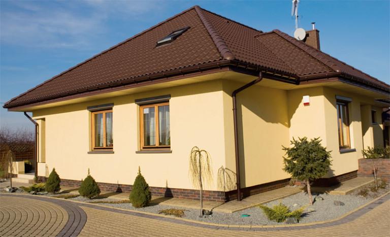 Краткое описание технологии наружной отделки домов «мокрый фасад»