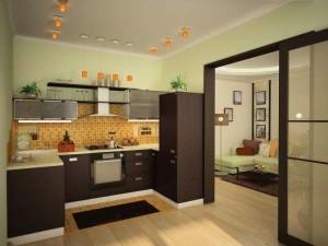 Рекомендуемые разновидности красок для декоративной отделки стен кухонного помещения